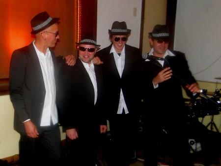"""Band """"Die 4 lustigen Fünf""""-Ronald Schilling"""