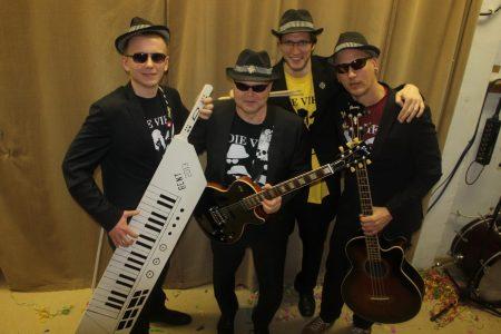 """Band""""Die 4 lustigen Fünf""""-Ronald Schilling"""