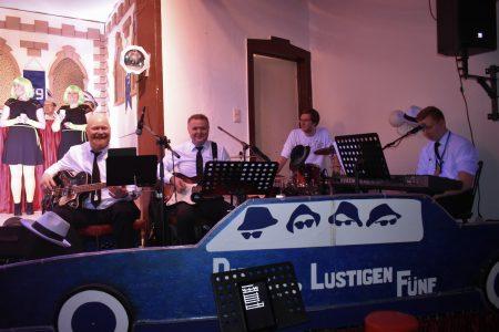 """Band""""Die4 lustigen Fünf""""-Ronald Schilling"""