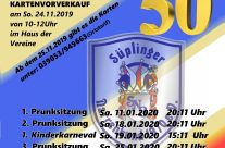 Hier sind die Veranstaltungstermine für die 50. Session des SNB