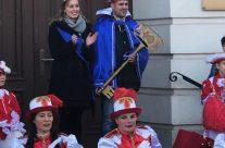 Das Prinzenpaar der 50. Session des Süplinger Narrenbundes